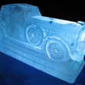 Antique Rolls Royce Vodka Luge from Passion for Ice