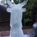 Bull's Head Vodka Luge from Passion for Ice