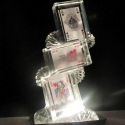 Playing cards Ice Sculpture from Passion for Ice