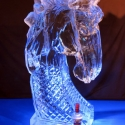 Circus Horse Head Vodka Luge from Passion for Ice