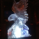 American Eagle Vodka Luge from Passion for Ice