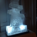 Helter Skelter Vodka Luge from Passion for Ice