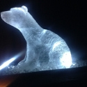 Polar Bear Vodka Luge from Passion for Ice