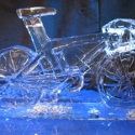 Racing Bicycle Ice Sculpture from Passion for Ice