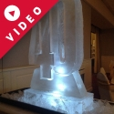 40 - shaped Vodka Luge from Passion for Ice