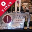 Champagne Display bar cooler from Passion for Ice