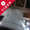 Starship Enterprise Vodka Luge from Pasion for Ice