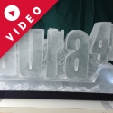 Laura 40 Vodka Luge from Passion for Ice