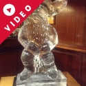Santa Vodka Luge from Passion for Ice