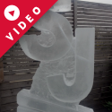 SJ initials Vodka Luge from Passion for Ice