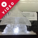 Vulcan Bomber Vodka Luge from Passion for Ice