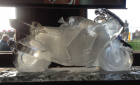 Honda Blackbird Motorbike Vodka Luge from Passion for Ice