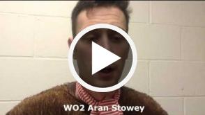 Sleigh Aran Stowey Testimonial