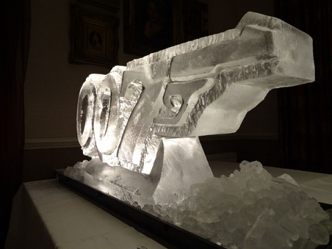 James Bond Logo Gun from Passion for Ice
