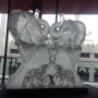 Double Elephant Ice Sculpture from Passion for Ice