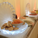 Half-size - Clam Shell Ice Sculpture from Passion for Ice