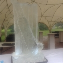 Cricket Bat, Ball and Stumps Vodka Luge from Pasion for Ice