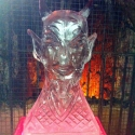 Devil's Head Vodka Luge from Passion for Ice