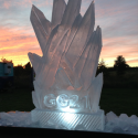 Fire and Ice Vodka Luge from Passion for Ice
