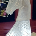 Horse Head Vodka Luge from Passion for Ice