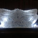 Masquerade Mask Vodka Luge from Passion for Ice