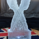 Rowing Oars Vodka Luge from Passion for Ice