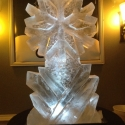 Snowflake with Ice Shards Vodka Luge from Passion for Ice