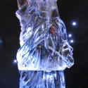 Statue of Liberty Vodka Luge from Passion for Ice