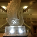 Swan Vodka Luge from Passion for Ice