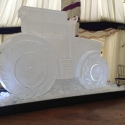 Tractor Vodka Luge from Passion for Ice