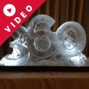 360 Vodka Luge from Passion for Ice
