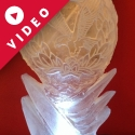 Army Air Corp Badge Vodka Luge from Passion for Ice