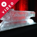 Admiral Law Logo Ice Sculpture from Passion for Ice