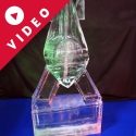 Bomb version 2 Vodka Luge from Pasion for Ice