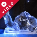 Camel - Seated Vodka Luge from Passion for Ice