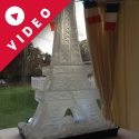 Eiffel Tower Vodka Luge from Passion for Ice