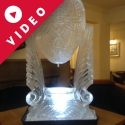Faberge Egg Vodka Luge from Passion for Ice