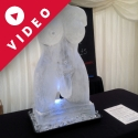 Hermaphrodite Vodka Luge from Passion for Ice