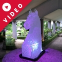 Racing Horse Head Vodka Luge from Passion for Ice