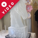 Horse Racing Horse Head Vodka Luge from Passion for Ice