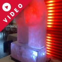 A Bottom Vodka Luge from Passion for Ice