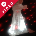 1920's  Movie Camera Vodka Luge from Passion for Ice