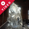 Pheasant Vodka Luge from Passion for Ice