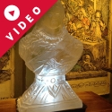 Queen Victoria Bust Vodka Luge from Passion for Ice