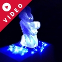 Winter Wonderland Sleigh Vodka Luge from Passion for Ice