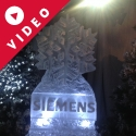 Siemen's Snowflake Vodka Luge from Passion for Ice