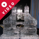London's Tower Bridge Ice Sculpture from Passion for Ice