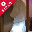 Unicorn Vodka Luge from Passion for Ice