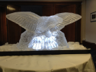 RAF Swooping Eagle Vodka Luge from Passion for Ice