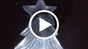Christmas Tree Vodka Luge   2